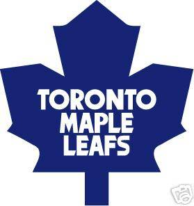 TORONTO MAPLE LEAFS Logo * Window WALL Sticker * Vinyl Car Decal ~ ANY