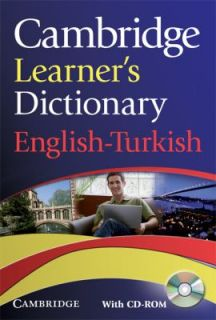 Cambridge Learners Dictionary English Turkish with CD ROM 2009, CD