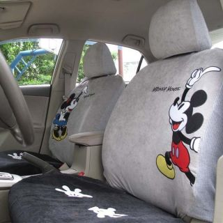 NEW Disney Mickey & Minnie Mouse H013 Car Seat Cover Set 10 pcs