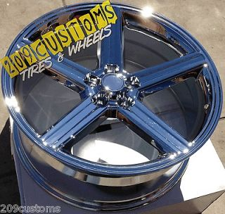 IROC WHEELS RIMS TIRES 5X127 +10 22X9.5 CHEVY CAPRICE 1972   76
