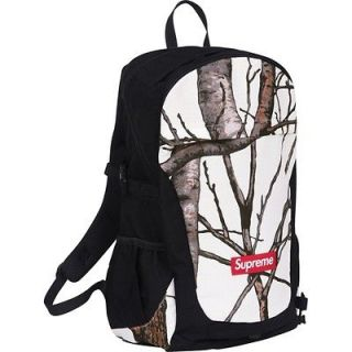 SUPREME Backpack Bag White Camo Box Logo camp kate moss comme three