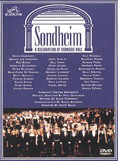 Sondheim   A Celebration at Carnegie Hall DVD, 2001