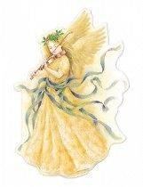 Carol Wilson Christmas Angel w/Violin Boxed Greeting Cards 15 ct