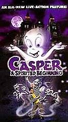 Casper A Spirited Beginning VHS, 2001