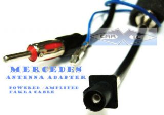 Mercedes Benz Radio Antenna Adaptor FAKRA CABLE 2005 07 (Fits CLK350)