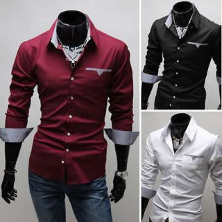 mens fashion shirts in Casual Shirts