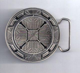 HALO 3 Logo Reversable Metal Belt Buckle  Heavy
