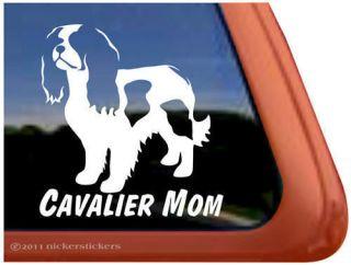 LOVE MY CAVALIER ~ Cavalier King Charles Spaniel Dog Window Decal