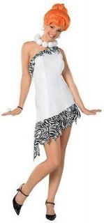 82 Rubies Womens Wilma Flintstone Adult Costume White Small
