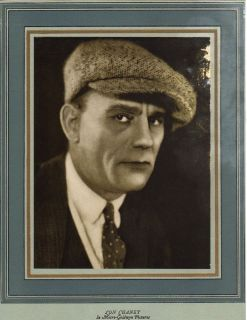 LON CHANEY   1925 Silent Movie Star Portrait METRO GOLDWYN Film Studio