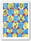 Graffiti Art Necktie ObGlob Kenny Scharf Acme Pen NEW