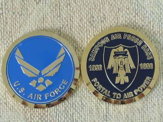USAF United States Air Force SAMPSON AIR FORCE BASE 1950 56 Challenge