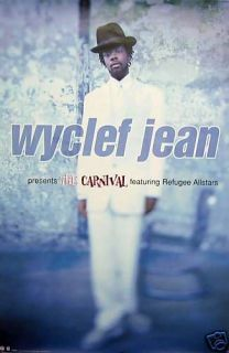 Fugees,Lauryn Hill,Wyclef Jean) poster