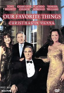 Our Favorite Things   Christmas in Vienna DVD, 2007