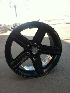 22 BLACK IROC WHEELS TIRES 5X127 GMC CHEVY TRUCK IMPALA CAPRICE