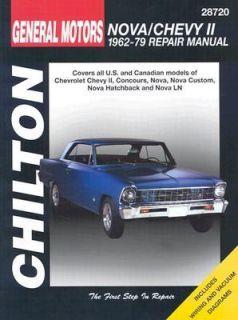 Chevrolet Nova and Chevy II, 1962 79 by Chilton Automotive Editorial
