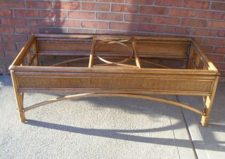 rattan coffee table in Home & Garden
