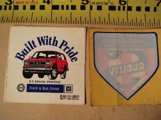 CHEVY S10 DECALS SUPER TEN door & windshield decals CHEVY GMC 4X4