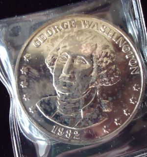 1982 George Washington Double Eagle Presidential Commemorative Coin