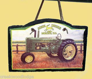 John Deere Tractor Moline Illinois Charles Freitag Hanging Sign 7