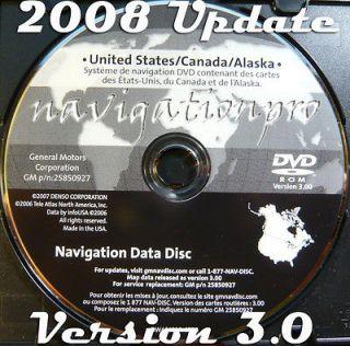 Update Avalanche Tahoe Suburban Silverado Hybrid Navigation DVD 3.0