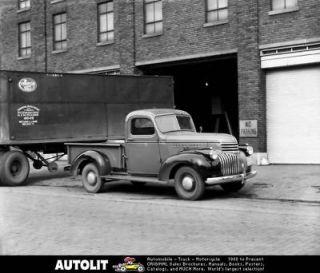 1946 Chevrolet Pickup Truck Factory Photo