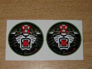 Marco Simoncelli 58 ciao marco 4.5cm x 2 stickers