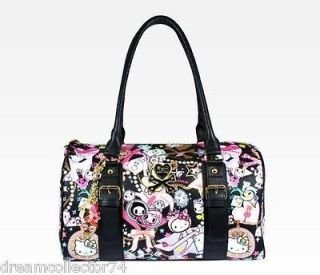 TOKIDOKI HELLO KITTY NEW RELEASE 2012 LARGE HANDBAG PURSE DUFFLE