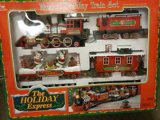 , New Bright MUSICAL HOLIDAY TRAIN SET/ The Holiday Express / #0181