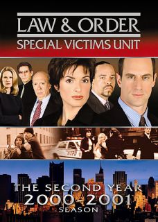 Law Order Special Victims Unit   The Second Year DVD, 2005, 3 Disc Set
