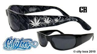 City Locs 431 Bud Leaf swirls Chopper Marijuana Canibus Weed