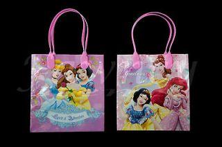 12 pcs Disney Princess Favor Loot Goodie Gift Kids Party Bags Plastic