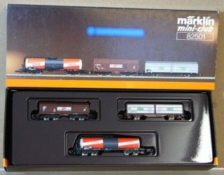 MARKLIN MäRKLIN 82501 MINI CLUB Z OBB ÖBB BOGIE KESSELWAGEN CLOSED