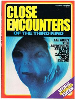 CLOSE ENCOUNTERS of the Third Kind OFFICIAL MAGAZINE 1977/1978