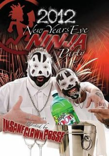 Insane Clown Posse New Years Eve Ninja Party DVD, 2012