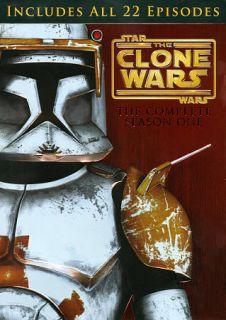 Star Wars The Clone Wars   Season 1 DVD, 2011, 4 Disc Set