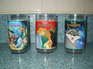 Disney Movie Burger King Glasses Collectible in Box Pocahontas
