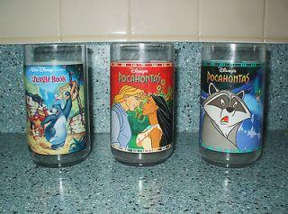 Disney Movie Burger King Glasses Collectible in Box Pocahontas