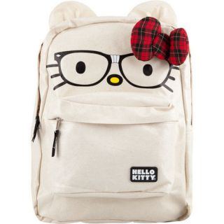 NWT Loungefly Hello Kitty Nerds Backpack with Ears & 3D Bow by Sanrio