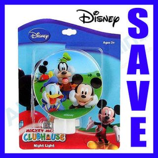 Mickey Mouse Disney ClubHouse Night Light Kid Room Lamp Nightlight