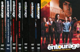 Entourage The Complete Seasons 1 6 DVD, 2010, 19 Disc Set
