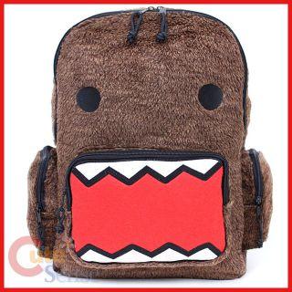 Domo Kun Plush School Backpack 14 Medium Bag  Licensed