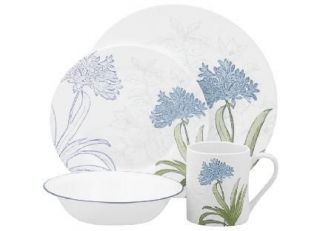 16 pc CORELLE IMPRESSIONS FREESIA DINNERWARE SET *NEW