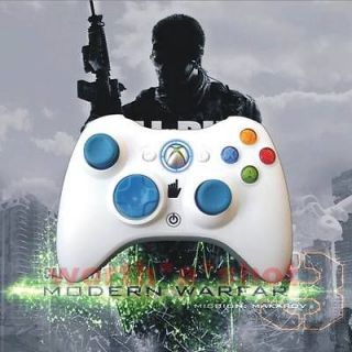 Xbox360 controller Rapid Fire Modded White Controller 12 Mode