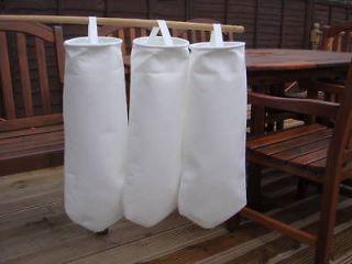 50 10 & 1 MICRON FILTER BAGS ,USED COOKING OIL, VEG OIL,BIO DIESEL