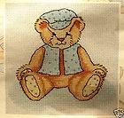 Baby Teddy Bear – DMC counted cross stitch kit
