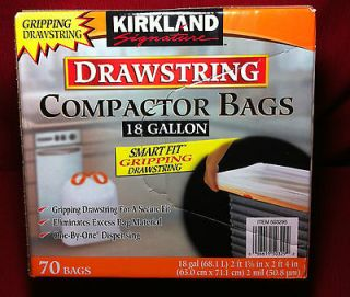 TRASH COMPACTOR BAGS 70 BAGS