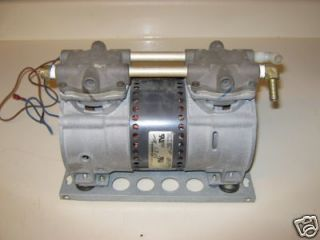 Thomas Compressor Vacuum Pump 2619 2639 Aerate Pond With 110 V Power