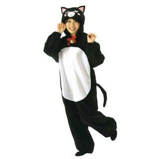 KIGURUMI Halloween Costume BLACK KITTY CAT for party from JAPAN NEW