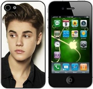 JUSTIN BIEBER hard case cover fits IPHONE FOUR 4/4S MOBILE PHONE